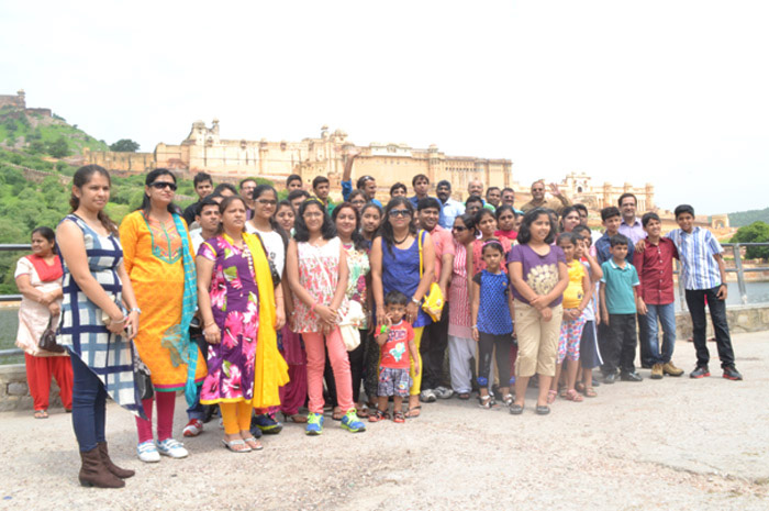 Time for a Break Jaipur Agra trip for GPL Employees